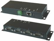 RS232 zu Ethernet Data Gateway4 Port, Metallgehäuse
