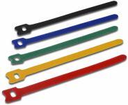 Klettkabelbinder 150 x 13 mm  VP= 10 Stück, farbig sortiert