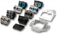LWL-Dose Multi System, u. Putzfür alle Steckertypen, RAL9010