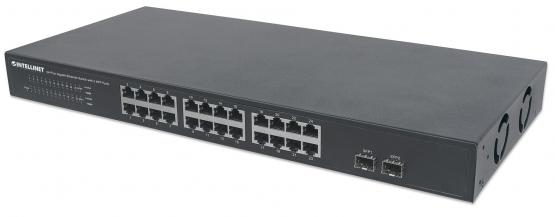 24+2 Port SFP Gigabit Switch, 19 Zoll