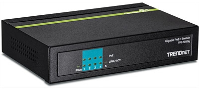 4 Port Gigabit PoE+ Switch, Desktop, TPE-TG50g