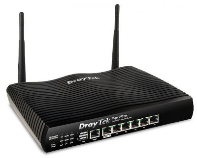 Router Dual-WAN Gigabit, VPN, Firewall, WLAN 802.11ac, Vigor 2926ac