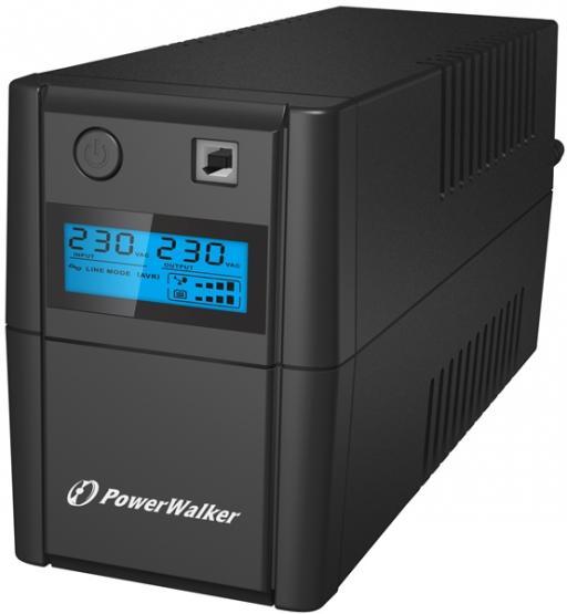 USV Powerwalker VI 850 SHL    Line Interaktiv; 850 VA/480 W