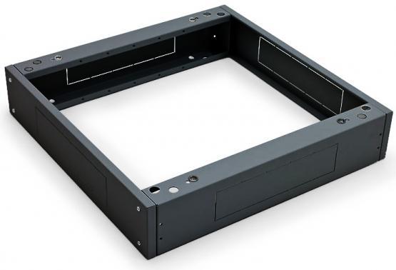 Sockel für 800 x 800 Triton Schrank max. Traglast 400 kg, schwarz