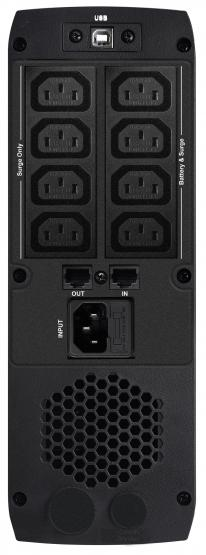 USV PowerWalker CSW, VI600-VI1500, Line Interaktiv, reiner Sinus 800 VA /480 Watt | 8 x IEC C13, USB Charger