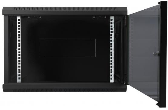9 HE Wandgehäuse Digitus Dynamic Basic - 600x450 mm (BxT), abnehmbare Seitenteile, schwarz