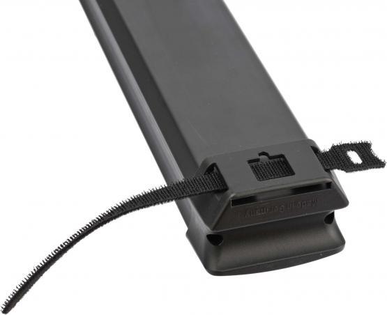 10-fach Steckdosenleiste Premium-Line, schwarz/lichtgrau mit 3 m Zuleitung, mit Schalter