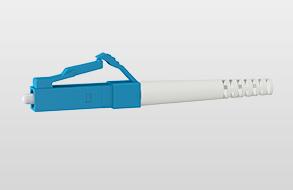 LWL-Universalkabel U-DQ(ZN)BH, innen/außen, halogenfrei 4 | E9/125 OS2 | LC / LC | 150 m