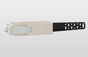 LWL-Universalkabel U-DQ(ZN)BH, innen/außen, halogenfrei 4 | 50/125 OM3 | SC / SC | 70 m