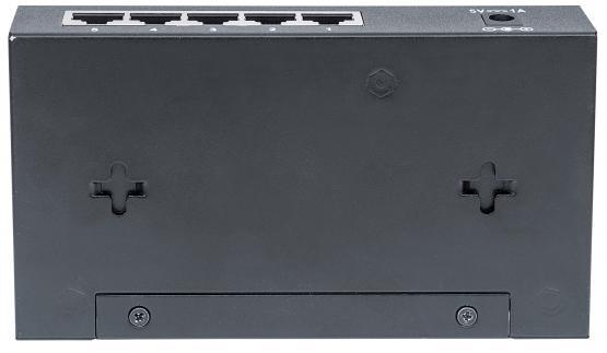 5 Port Gigabit Switch, Desktop Metallgeäuse