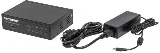 8 Port PoE+ Gigabit Switch, Desktop, Power budget 60 Watt