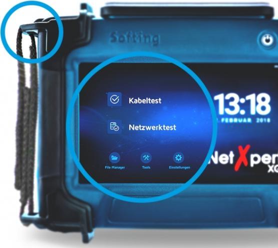 LAN Qualifizierer bis 10Gbit/sSofting NetXpert XG 10G