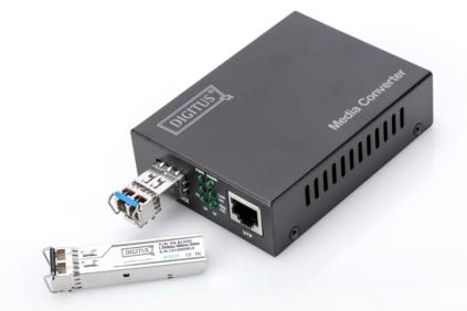 Converter LWL, SFP          DI10/100/1000 Mbps auf SFP