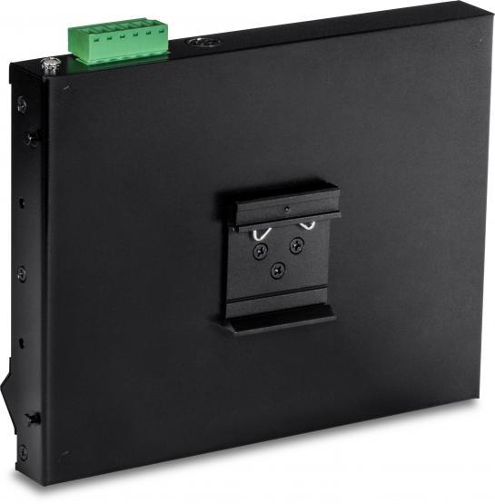 Industrie 8 Port PoE+ Gigabit Switch, Wall-Mounting, Powerbudget 200 Watt, TRENDnet TI-PG80F