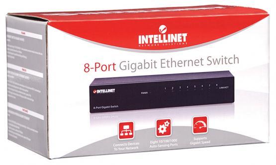 8 Port Gigabit Switch, Desktop Metallgeäuse