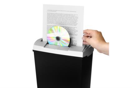 Aktenvernichter S7 mit        CD / DVD / Kreditkartenfach