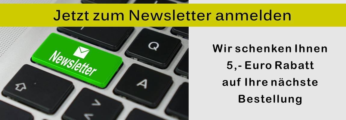 Banner 5€ Gutschein für Newsletteranmeldung