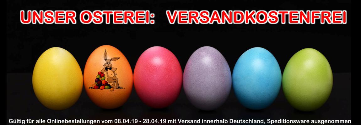 Banner Ostern Versandfrei